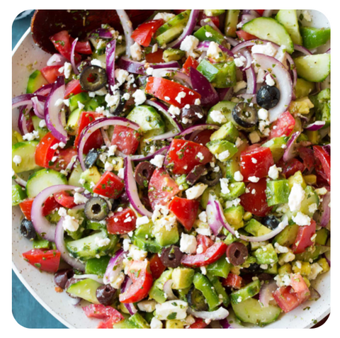 Greek - Gourmet Salad (minimum 10 salads)