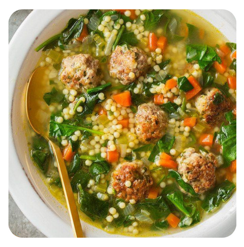 Italian Wedding Soup (minimum 6 soups)