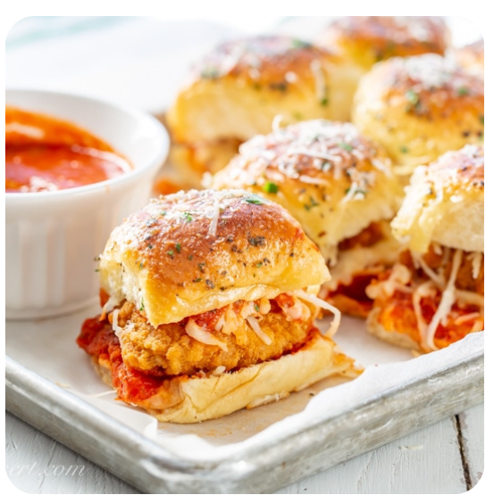 Chicken Parmigiana Sliders (minimum 2 dozen)