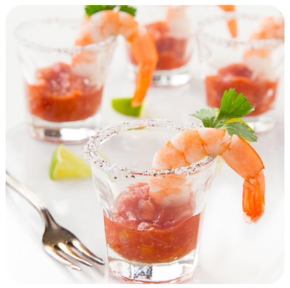 Shrimp Shooters (minimum 2 dozen)