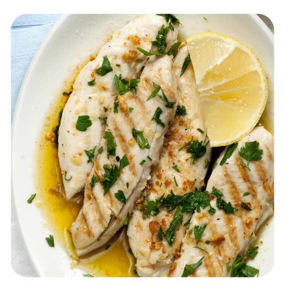 Chicken Al Limone (minimum 6 pieces)
