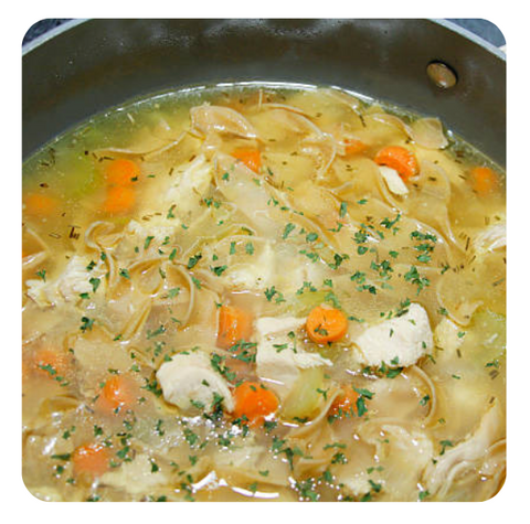 Chicken Noodle Soup (minimum 6 soups)