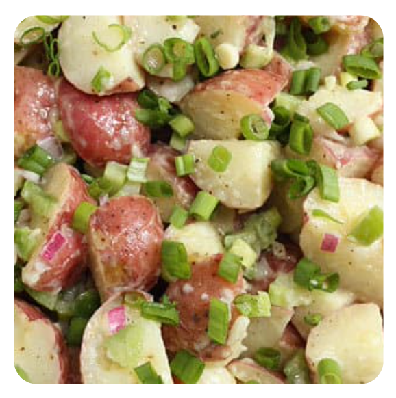 New Potato - Traditional Salad (minimum 10 salads)