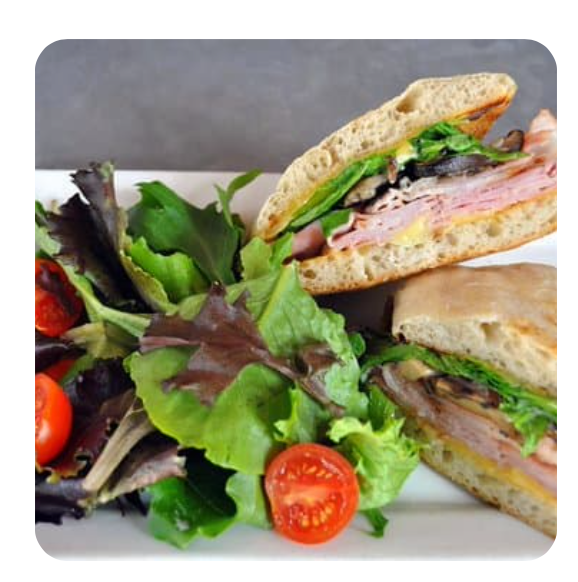 Assorted Traditional Sandwich Platter Combo (minimum 10 sandwiches)