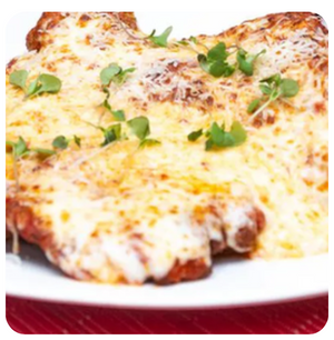 Veal Parmigiana (minimum 6 pieces)