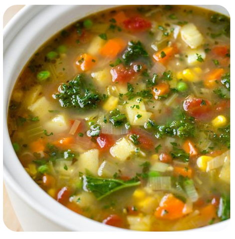 Vegetable Soup (minimum 6 soups)