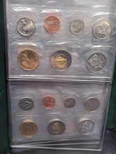 Load image into Gallery viewer, Canada - RCM UNC Coin Set Folder With 6 Coin Sets From The 2000's
