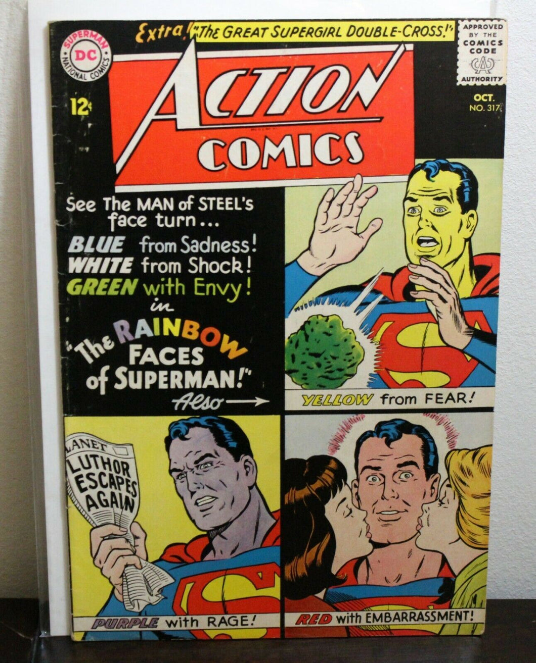 Action Comics (1938 DC Series) #317 in FN+ Shape
