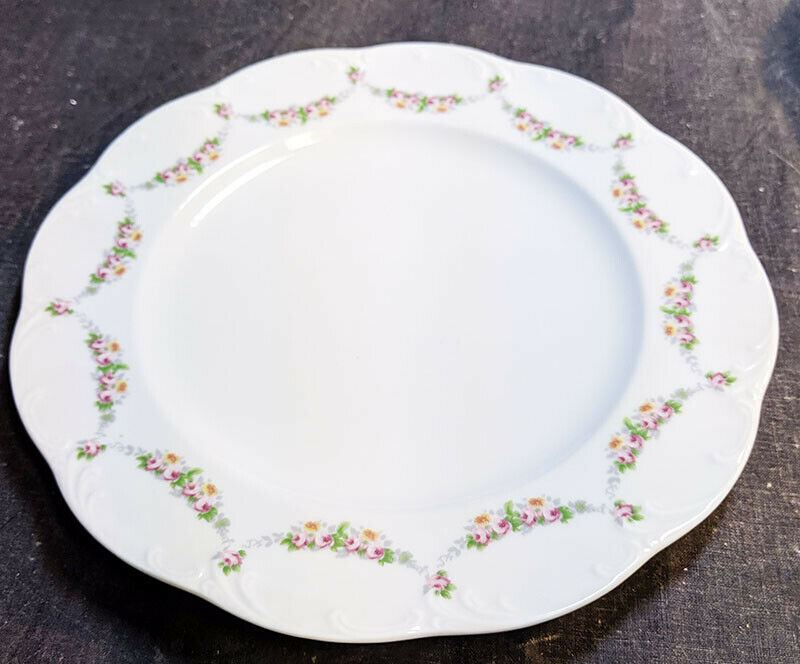 Rosenthal - Classic Rose Pattern Salad Plate - 7 3/4