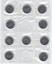 Load image into Gallery viewer, 2012 Canada Tecumseh Circulation Coin 10-Pack Quarters By Royal Canadian Mint