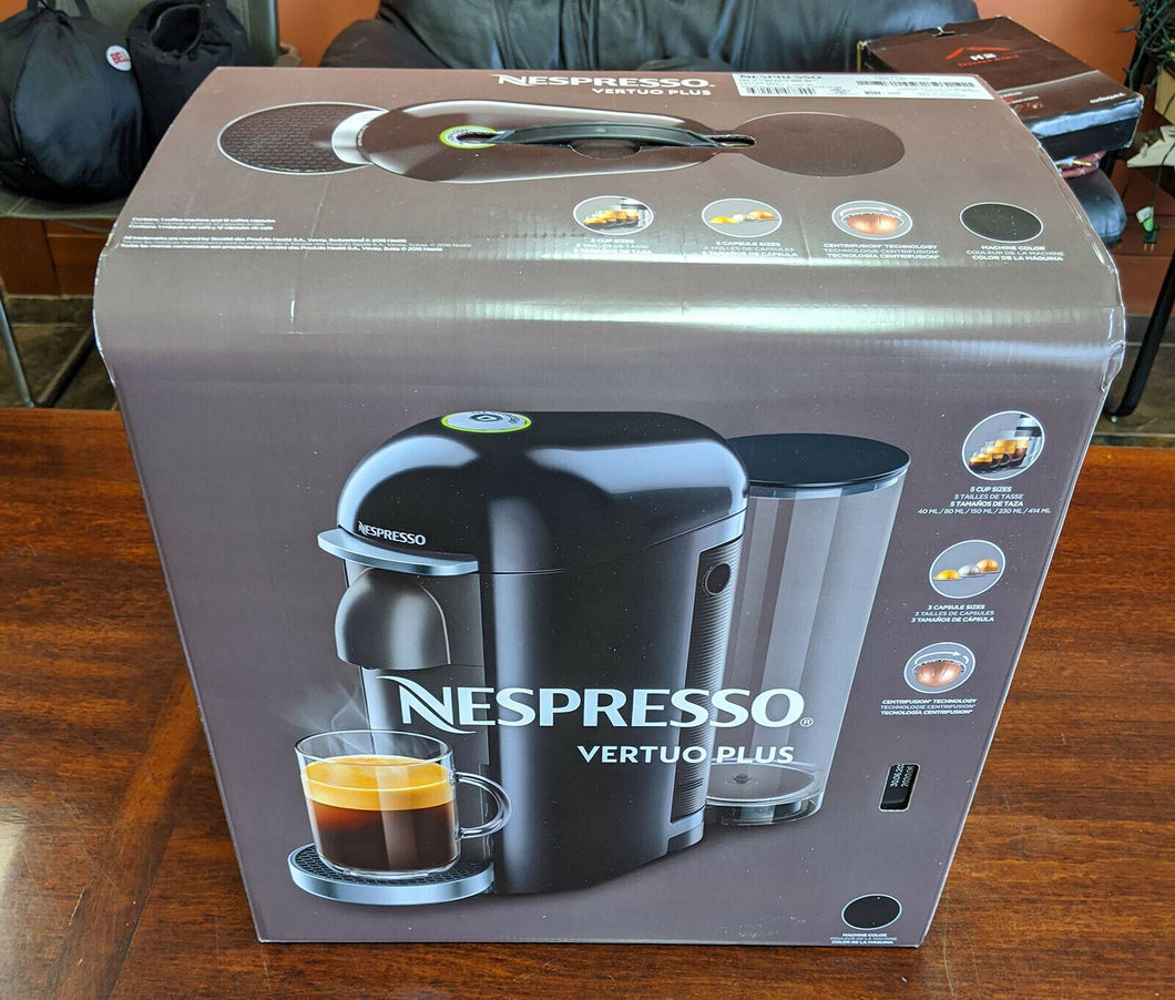 Nespresso Vertuo Plus Coffee Machine - New in Box - Black
