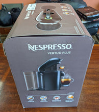 Load image into Gallery viewer, Nespresso Vertuo Plus Coffee Machine - New in Box - Black