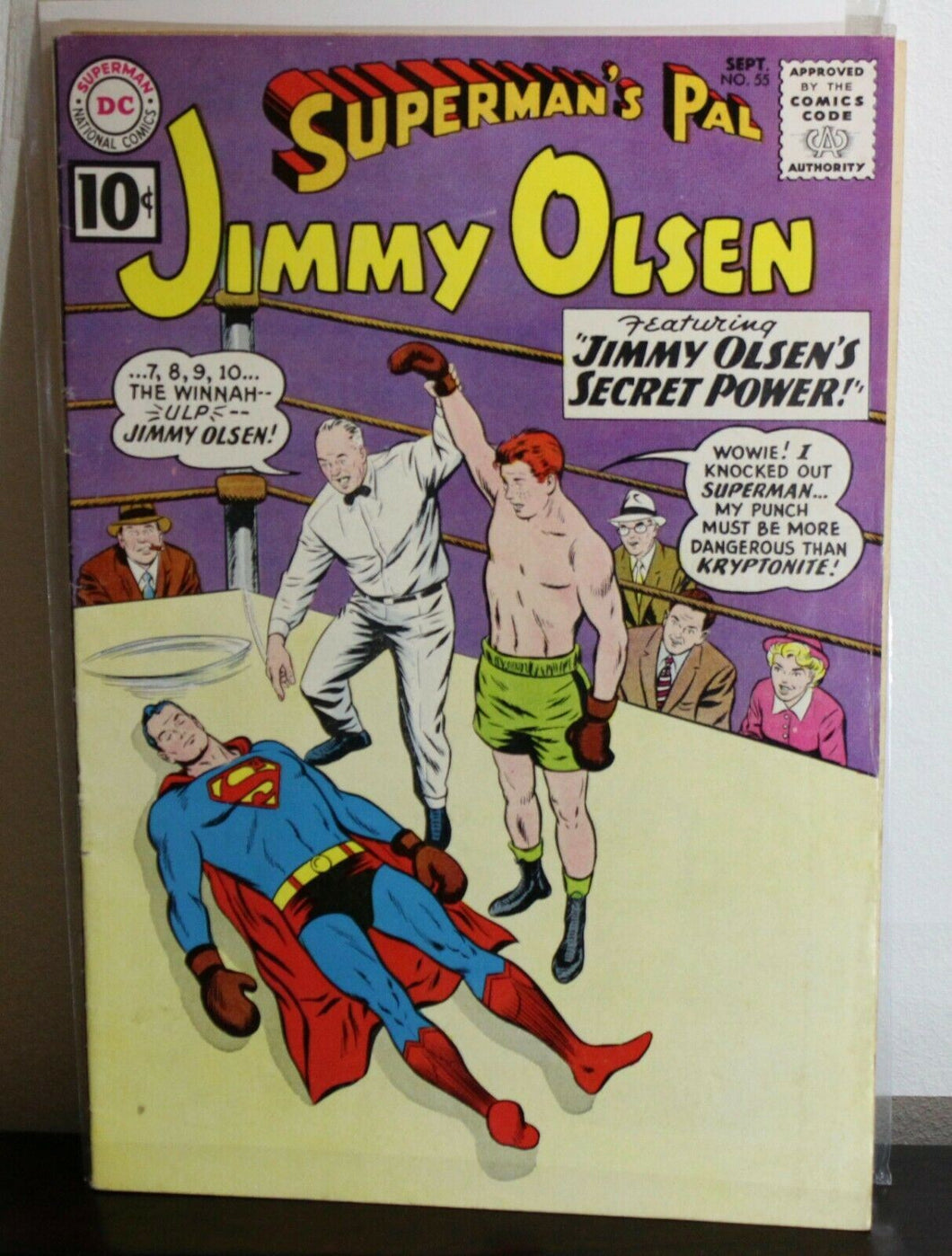 Superman's Pal Jimmy Olsen (1954 Series) #55