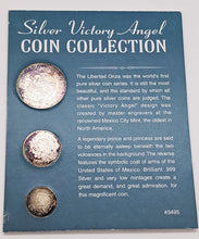 Load image into Gallery viewer, 1996 .999 Fine Silver Victory Angel Coin Collection - Mexican Silver Libertad's