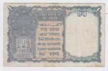 Load image into Gallery viewer, 1940 Government of India One Rupee Bank Note