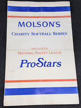 Load image into Gallery viewer, Autographed Molsons Charity Softball Series Featuring National Hockey League
