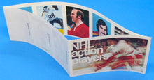 Load image into Gallery viewer, 1974-75 NHL Hockey Action Players Unopened Sticker Panel 24 - Parent, Frig, etc.