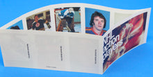 Load image into Gallery viewer, 1974-75 NHL Hockey Action Players Unopened Sticker Panel 20 - Sabourin/Robinson