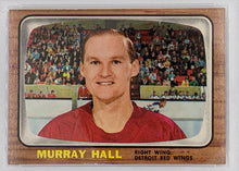 Load image into Gallery viewer, 1966 Topps Hockey Card - Murray Hall - PSA Graded NM 7 (ST)