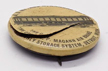 Load image into Gallery viewer, Rare 1900 Kansas City Magann Air Brake Train Pinback – As Is
