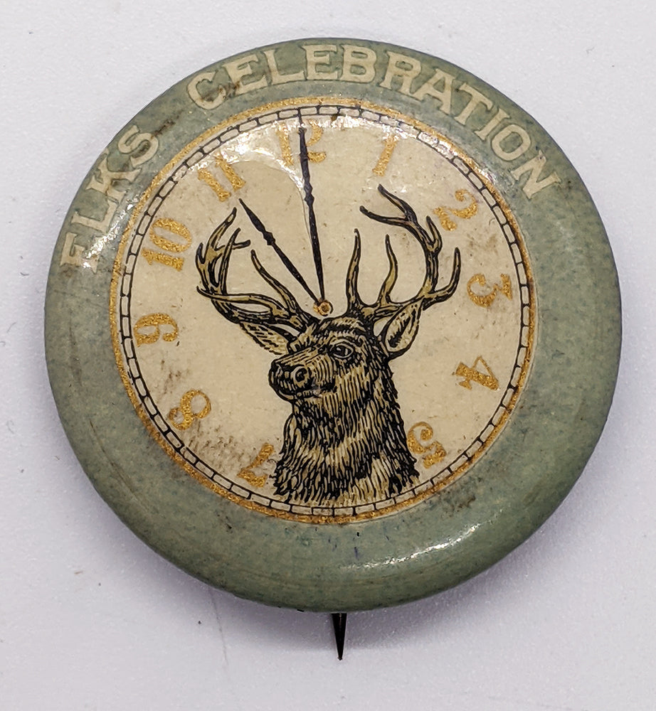 c. 1900 Elks Celebration Pinback Button