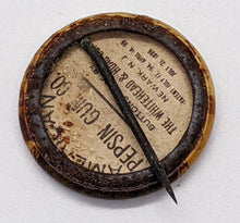 Load image into Gallery viewer, c. 1896 Pepsin Gum Co. Prince Bismark Pinback