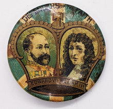 Load image into Gallery viewer, Vintage 1896 Defenders of the Faith Edward VII & William III Pin