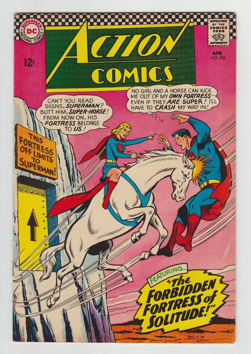 Action Comics (1938 DC Series) #336