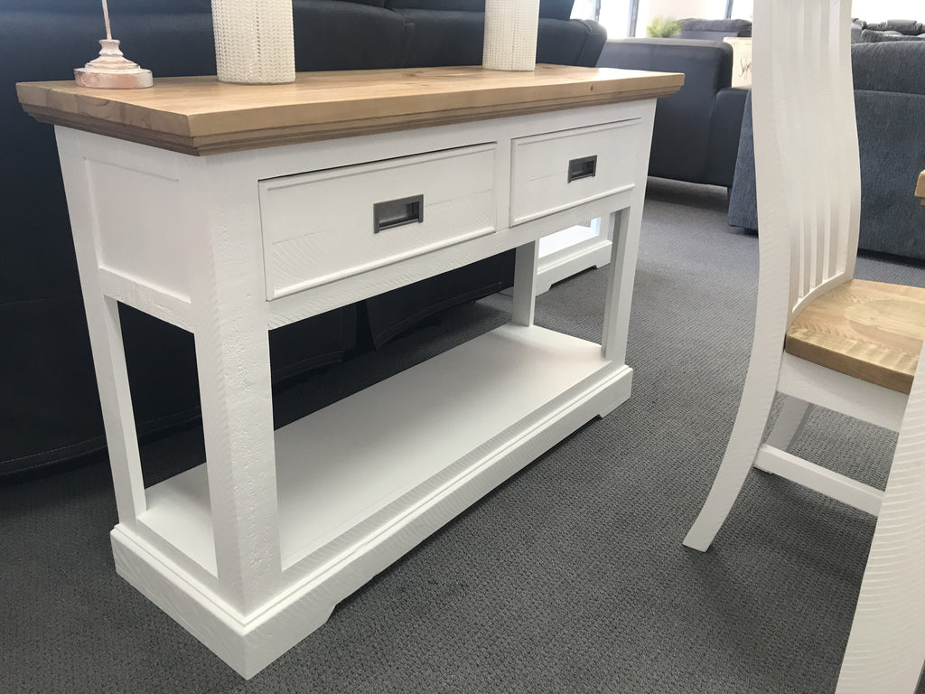 Hamptons Hall Table-Bedding & Furniture - Browns Plains