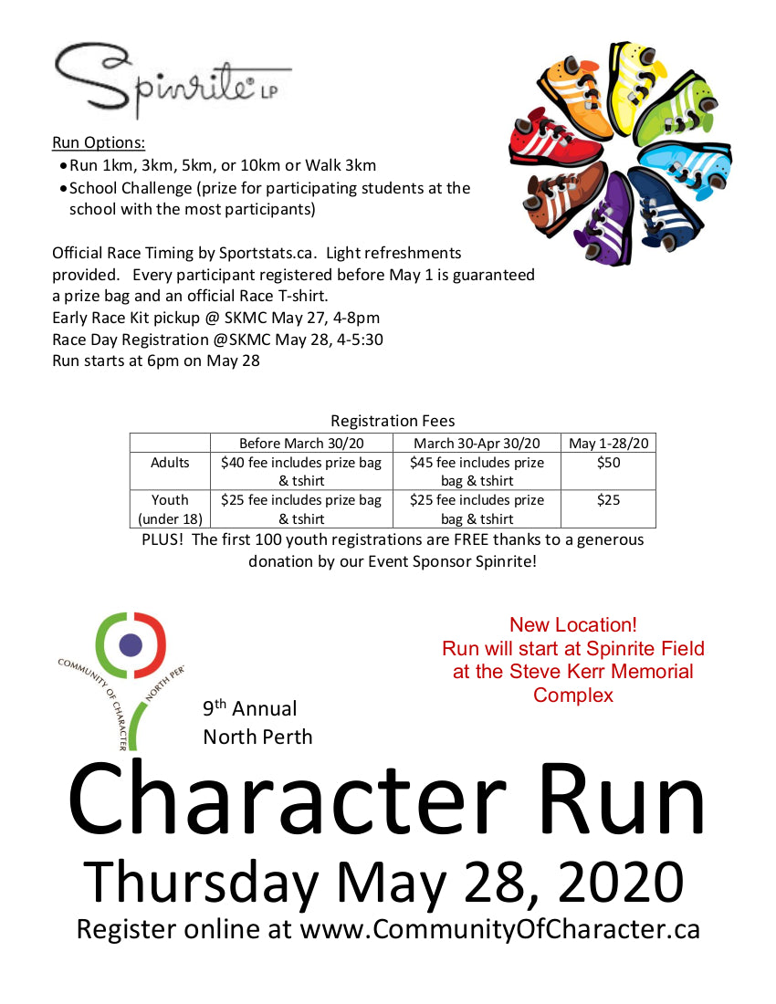 north perth character run 2020