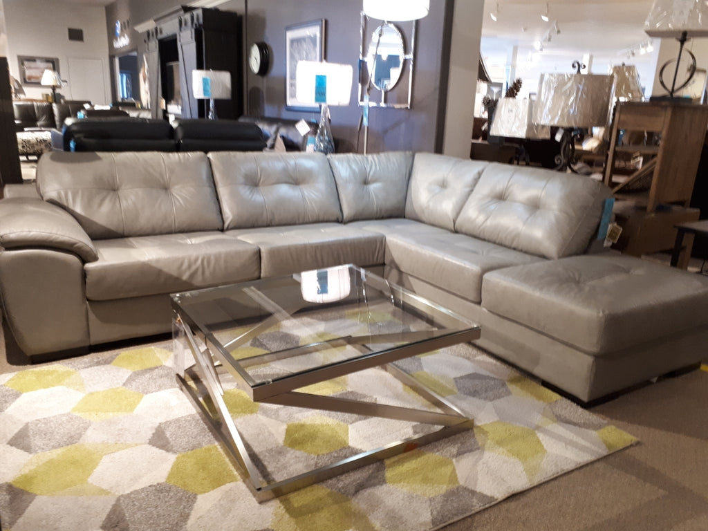 Long beach 77627 Chaise Sectional in Classic Ash