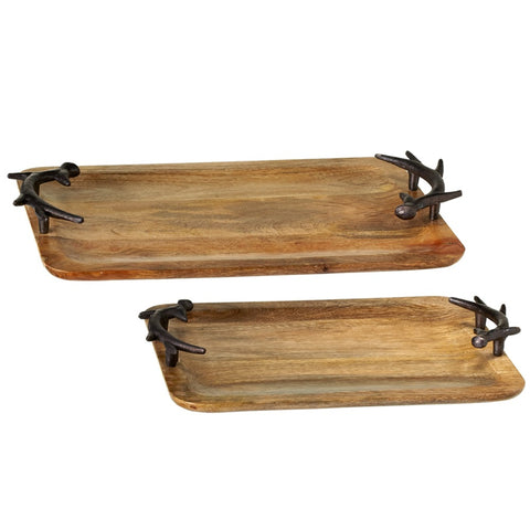 Rectangle Antler Tray