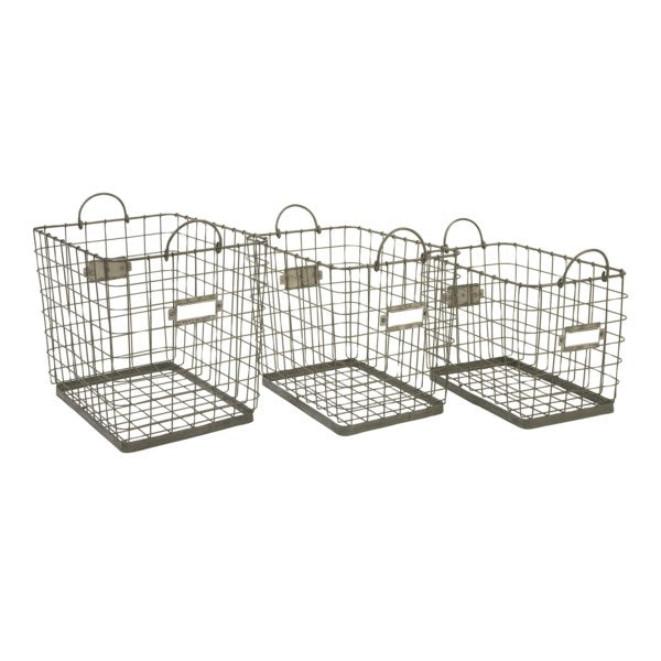 84319 Newbridge Wire Storage Basket