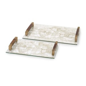 86156 Glass Trays