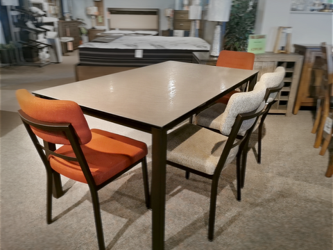 'Ricard' Table & Phoebe Side-Chairs PACKAGE