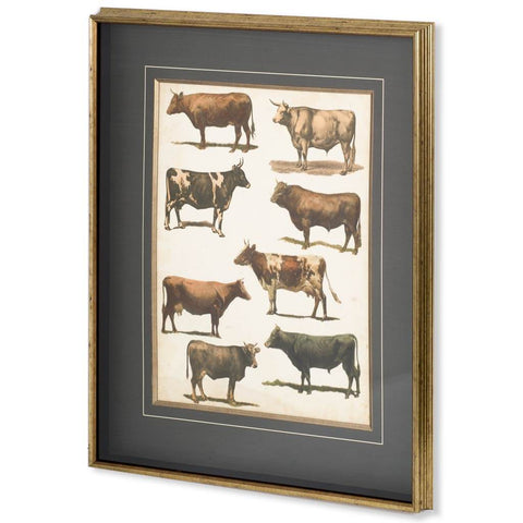 10808 Antique Cow Chart