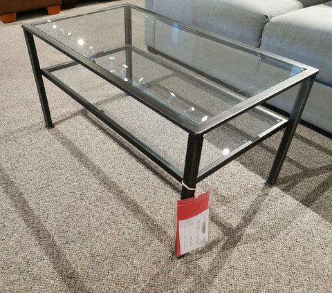 Vintage Condo Cocktail Table - Pewter Finish