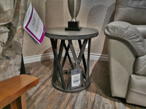T711 Sharzane Round End Table