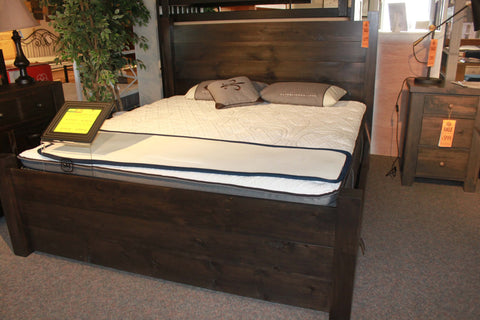3 Board King Bed