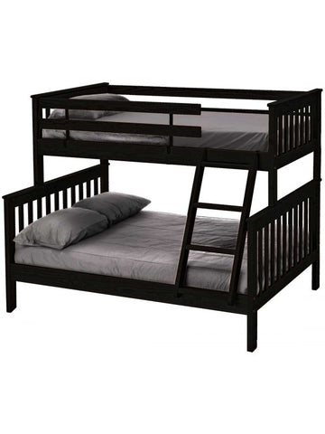 E4706 Twin Over Double Bunk Bed