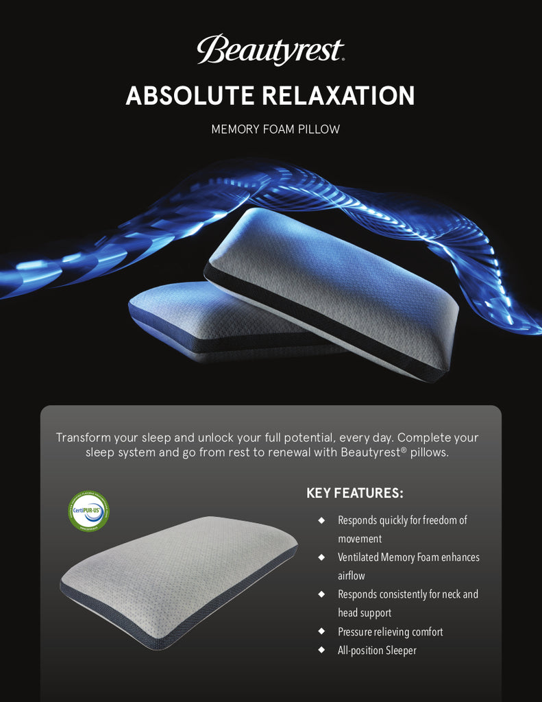 Absolute Relaxation Luxury Pillow