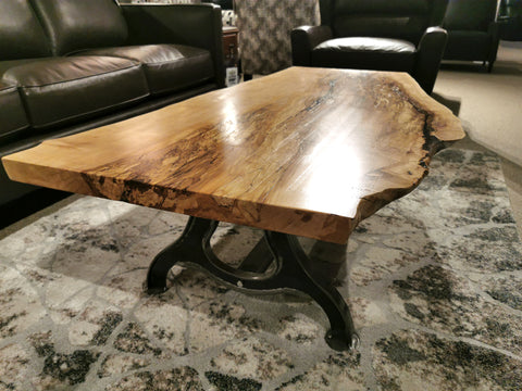 "Spalted Maple Coffee Table 60"" Long"