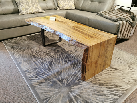 "54"" Spalted Maple Waterfall Table"