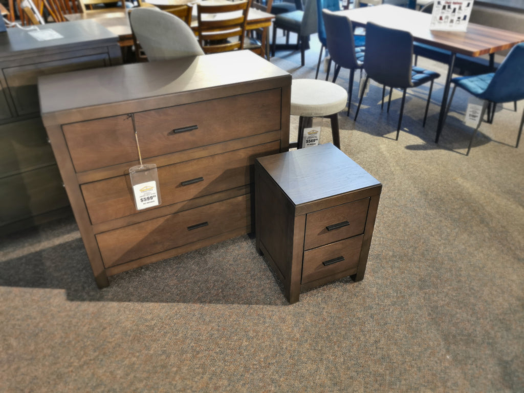 Campbell 2-Drawer Nightstand
