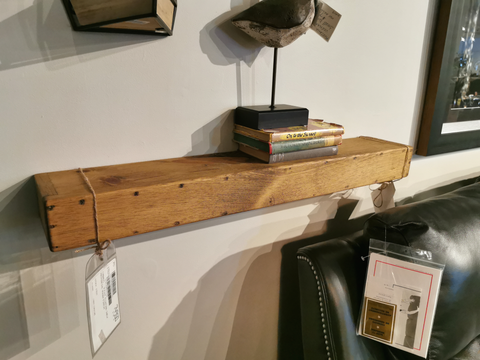 Pine Floating Shelves