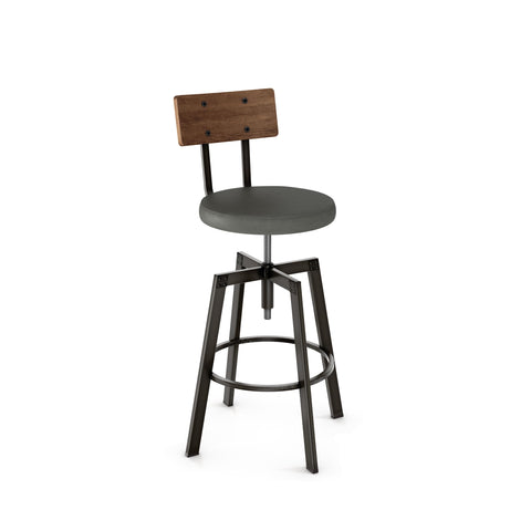 Architect Stool With Seat Cushion