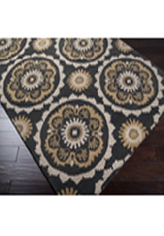 Area Rug 100% Nz Wool Hand Tufted