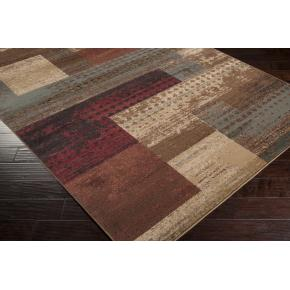 Area Rug Abstract 100%polypropylene Machined