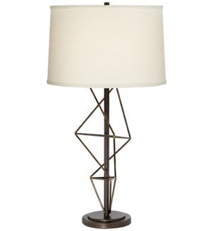 87-7961-22 Geometric Table Lamp