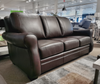Orangeville Leather Sofa
